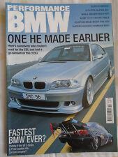 Performance BMW Oct 2003 323Ci, Alpina E21, Hamann 330