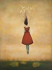 Duy Huynh Suspension of Disbelief Fantasy Odd Weird Birds Print Poster 18x24