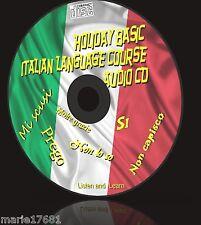 Essenziale per le vacanze italiano BASIC Facile corso di lingua per tutte le età NUOVO CD AUDIO