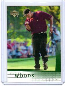 2001 UD Upper Deck Golf TIGER WOODS Rookie Card RC
