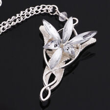 Women Fashion Crystal Elf Princess Arwen's Evenstar Pendant Jewerly Necklace