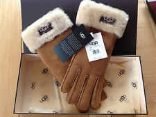 58bf9da12e5 UGG Australia Leather Winter Gloves & Mittens for Women | eBay