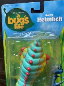 Disney Pixar A Bug's LIfe Hungry Heimlich Action Figure Vintage  Unopened.