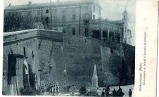 PORTACOMARO - ASTI - PALAZZO MUNICIPALE - ANIMATA - VG 1924 FP - C475