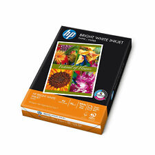 500 Sheets HP A4 Size Inkjet Paper Bright White 90 g/m2 Thickness Quality