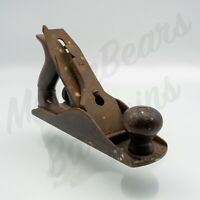 Vintage Estate Stanley Bailey  No. 4 9.5 Inch Smooth Bottom Woodworking Plane