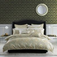 Davinci Castille Quilt Cover Set Gold