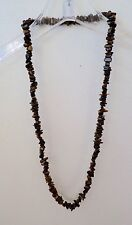 Tiger's Eye Chip Necklace