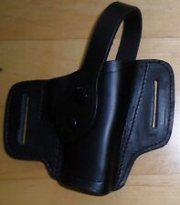 AKAH Polizei Holster Quicksure NEU P6 /P-225 Gürtelholster Leder schwarz