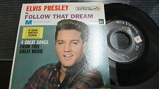 ELVIS PRESLEY RCA VICTOR 45 RPM & PICTURE SLEEVE EPA-4368 FOLLOW THAT DREAM