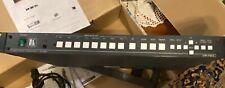 Kramer VP-724XL 8-Input Presentation Switcher/Scaler. All Original Stuff Intact!