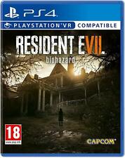 Resident Evil 7 Biohazard (PS4) VR Compatible New and Sealed