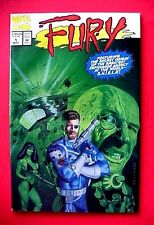 MARVEL COMICS FURY # 1 MAY 1994 Origins Of Shield Anthony Stark & Hydra