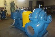 100 hp Pump 14 x 16  6000 GPM 1200 RPM TRANE CHILLER CARRIER CHILLER