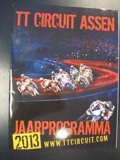 TT Circuit Assen Jaarprogramma 2013