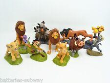 Lot 9 pcs Movie The Lion King Action figures Toy Set Cake Topper Simba Nala