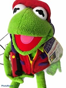 """Macy's Official Frog-Tographer Kermit the Frog Plush w/ Camera 26"""" Muppet *READ*"""
