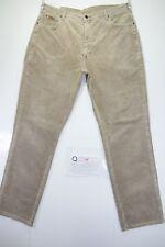 Wrangler texas (Cod.Q297) Tg54 W40 L34 jeans d'occassion en velours