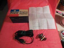1960-72 MOPAR-CHEV-FORD & OTHERS-1950-72 CHEVY-GMC TK  N.O.S.MOPAR ENGINE HEATER