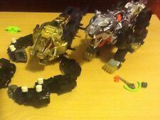 Zoides 2 Artiglio in scatola TOMY SABER Tiger e Trasformatore Uomo e WOLF è perdere