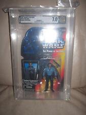 1995 Star Wars POTF AFA 7.0 Red Card Lando Calrissian Action Figure NOC!!