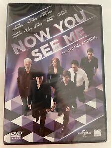 """DVD Now You See Me 2013 NUOVO SIGILLATO """"Il maghi del crimine"""""""