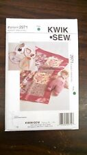 NEW KWIK SEW PATTERN UNOPENED BLANKET, BIBS AND DOLL  #2971