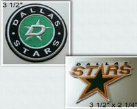 Dallas Stars Logo Iron On Patch Choice of Style Free Shipping in Envelope Mail