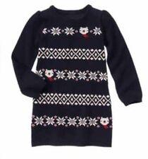 Gymboree Polar Bear Holiday Shop Girls Sweater Dress Nwt Fair Isle Size 8