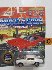 JOHNNY  LIGHTNING MUSCLE CARS SERIES 3 CHEVELLE SS WHITE