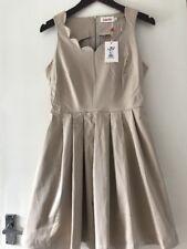 Louche Beige Dress From Joy Size 12
