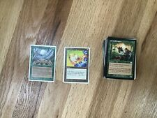 100 MTG Cards  - OLD VINTAGE LEGACY 1994-2002 Cyclone + Horn of Deafening