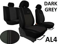 SEAT LEON Mk2 2005-2012 ECO LEATHER ALCANTRA SEAT COVERS MADE TO MEASURE FOR CAR