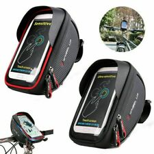 Waterproof Bicycle Bike Mount Phone Holder Mobiles Case Bags Pouch Cover New