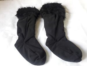 NWT STEVE MADDEN Black BOOT LINERS - ONE SIZE