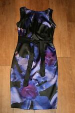 NEW! COAST pencil dress SIZE 10 occasion party prom wedding pin up 50's satin