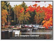 SEAPLANE WALL CALENDAR FOR 2016 - Seaplane Aviation Aircraft Calendar - Framable