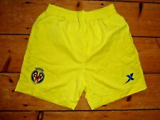 "Villarreal Cfcvf Shorts Size Small 30"" Waist Camiseta Maillot MagllA"