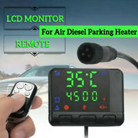 For Air Diesel Parking Heater Car LCD Monitor Remote Control Switch Controller