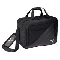 Puma Fußball Team Messenger Bag Kuriertasche Sporttasche schwarz