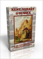 Kent, Surrey & Sussex - over 430 public domain pictures on DVD