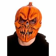 Scary Pumpkin Latex Gesichtsmaske Kostüm Halloween Party Accessoire Adul