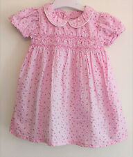 JoJo Maman Bebe Girls Pink Floral Dress 0-5 Years NEW