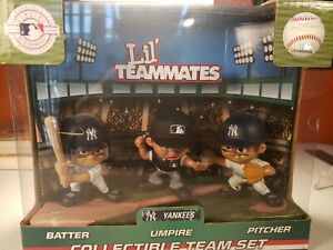 LIL TEAMMATES NEW YORK  YANKEES  3 PC NEW IN BOX