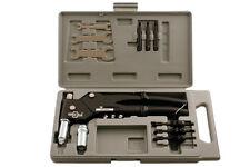 Laser Herramientas Tuerca Remachadora conjunto de herramientas con Flexi Cabeza Giratoria en caso de-hombre y hembra