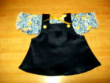 """Blue chambray SHORT SKIRT for 16-17-18/"""" CPK Cabbage Patch Kids"""