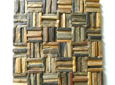 Rustic Wall Decor, Wall Coverings, Decorative Wood Tiles, Rustic Wall Tiles