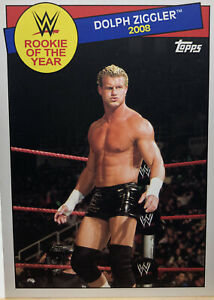 2015 Topps WWE Heritage 2008 Rookie Of The Year #23 Dolph Ziggler