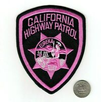 California Highway Patrol SPECIAL EDITION Pink Police Patch NEW / SAME DAY SHIP