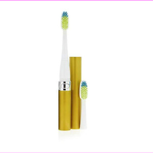 Voom Sonic GO1 Electric Toothbrush Gold + 4 Extra Head = 6 Total Heads Included